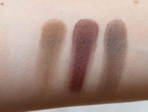 Viseart Petit Pro eyeshadow palette swatches