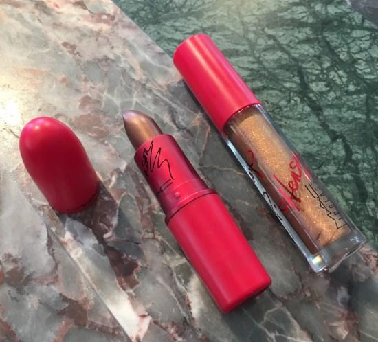 MAC Viva Glam Taraji II Lipstick and Lipglass