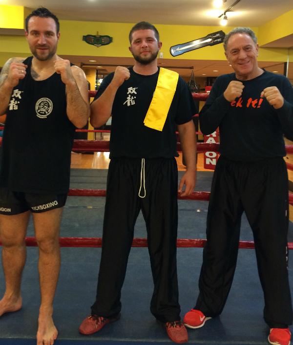 Twin Dragon East Kickboxing - Yellow Sash Brian Davidson