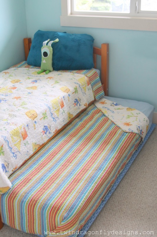How To Build A Diy Trundle Bed 187 Homemade Heather