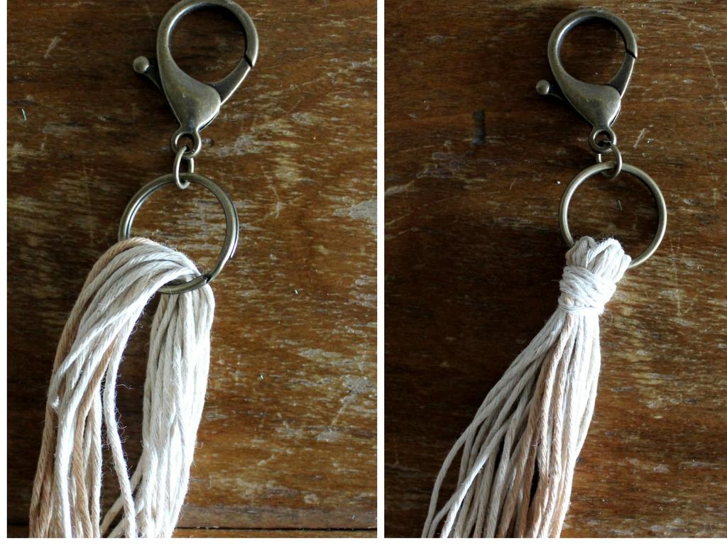 DIY Tassel Key Chain_Twine And Braids