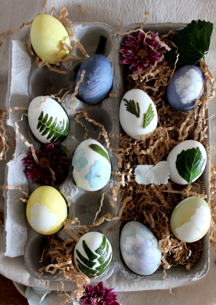 botanical easter eggs_twine and braids