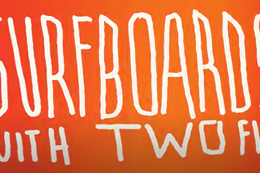 Surfboards with two fins