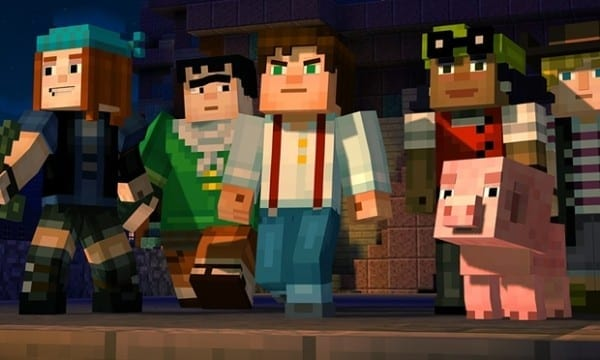 Minecraft: Story Mode, games, Wii U, release, 2016