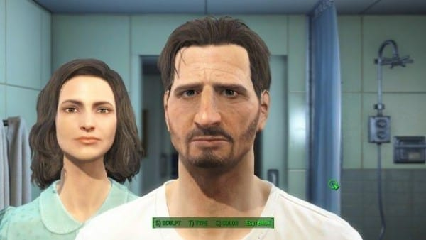 Fallout 4, character creation, Liam Neeson