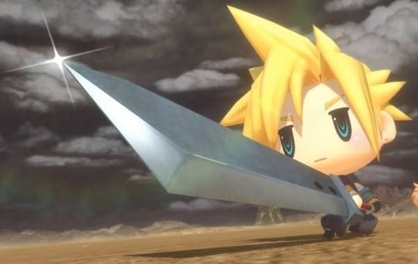 World of Final Fantasy, Cloud