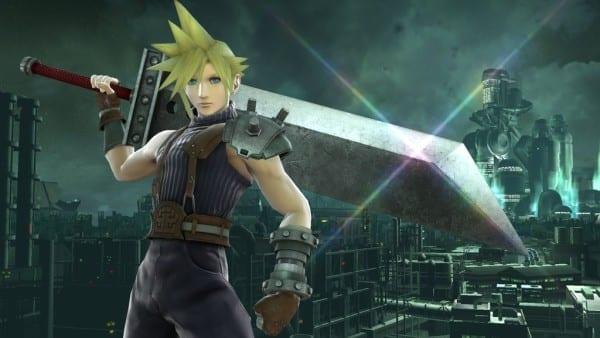 Cloud, Smash Bros, Final Fantasy, FF7, FFVII
