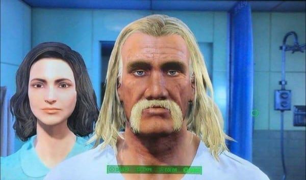 Fallout 4, character creation, Hulk Hogan