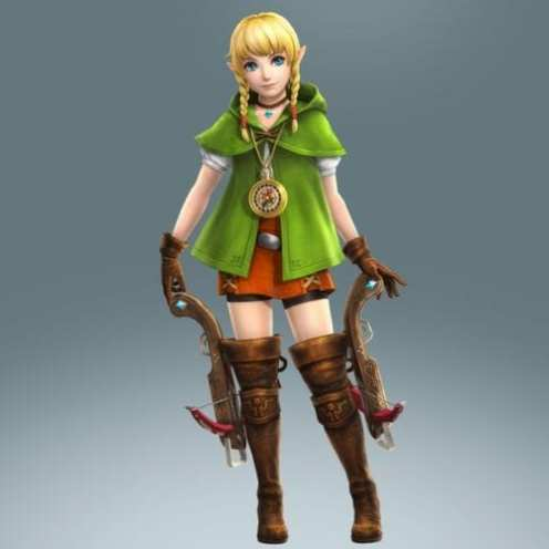hyrule warriors legends, linkle, legend of zelda
