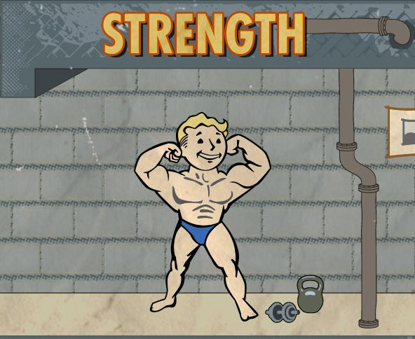 Fallout 4 strength, carry capacity