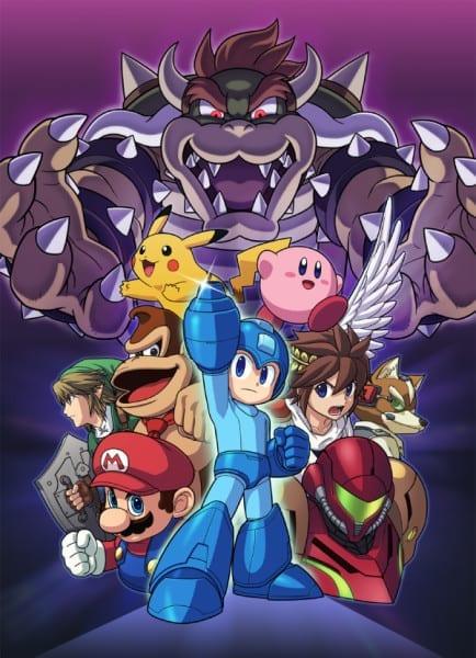 01 Smash_MegaMan art