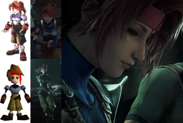 Final Fantasy VII Remake, Jessie