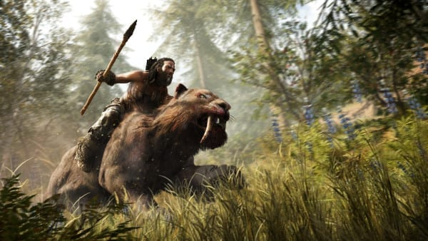far cry primal sabertooth tiger ride