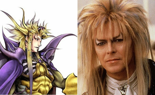 David Bowie is in every video game, Final Fantasy II, Emperor Mateus