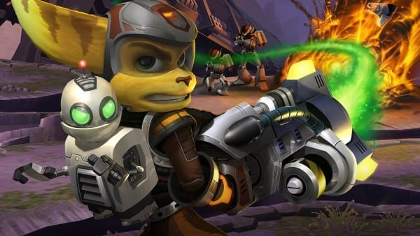 ratchet and clank, ps2, ps4