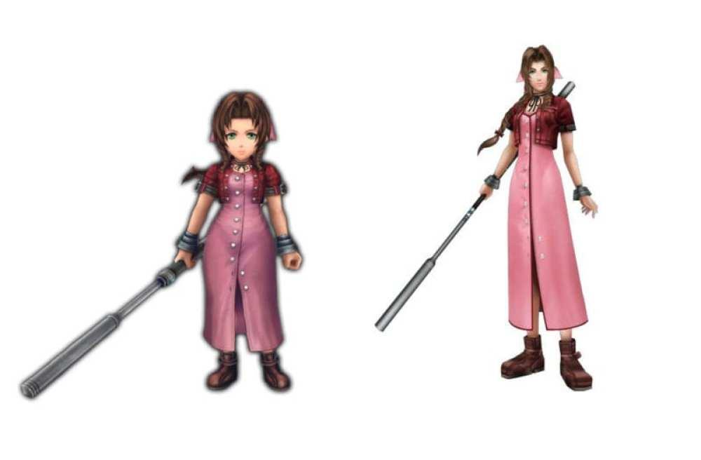 Aerith Final Fantasy VII vs explorers