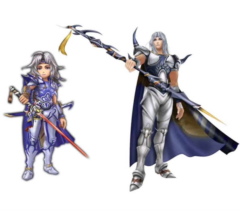Cecil Final Fantasy IV vs Final Fantasy Explorers