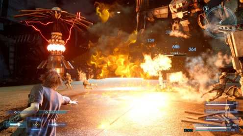 final fantasy xv, noctis, combat