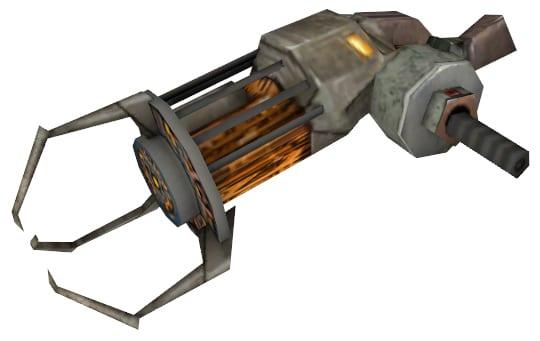 powerful, gravity gun, hammer, dubstep gun, hyper beam, half life, super metroid, ff7