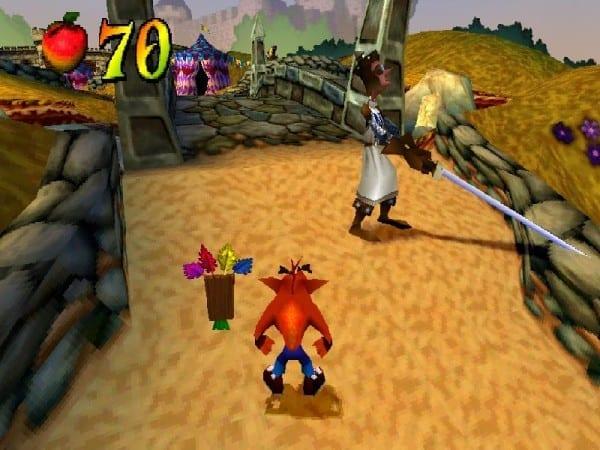 Crash Bandicoot, remastered remake