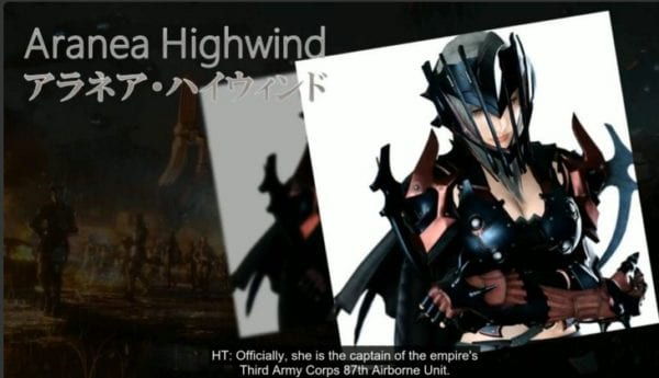 final fantasy xv, dragoon, highwind, niflheim, antagonist, villain