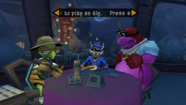 sly cooper, ps2, ps4