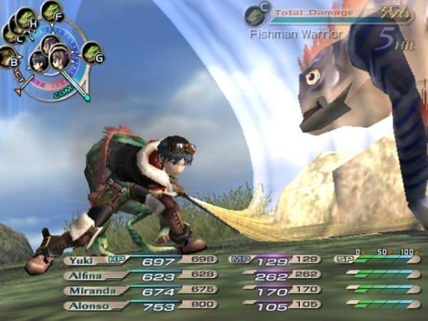 Grandia, ps2, ps4, game series