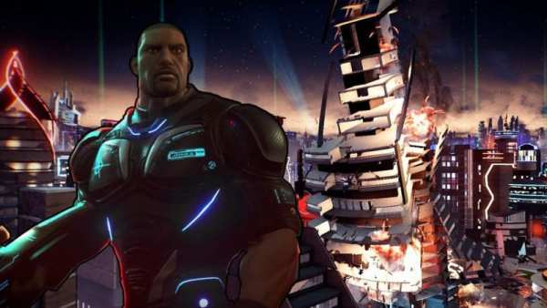 crackdown 3, xbox one x