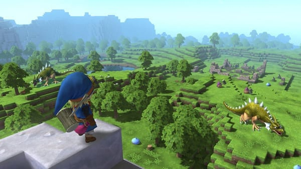 Dragon Quest Builders, Minecraft