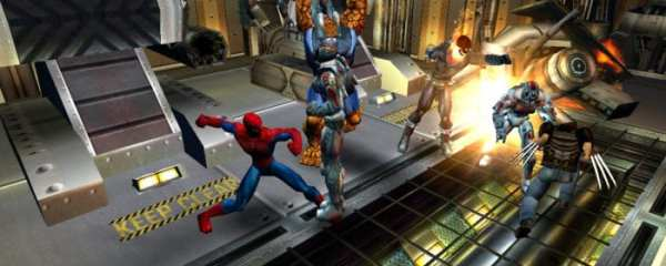marvel ultimate alliance, ps2, ps4