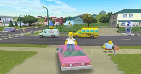 Simpsons Hit and Run, PS2, PS4