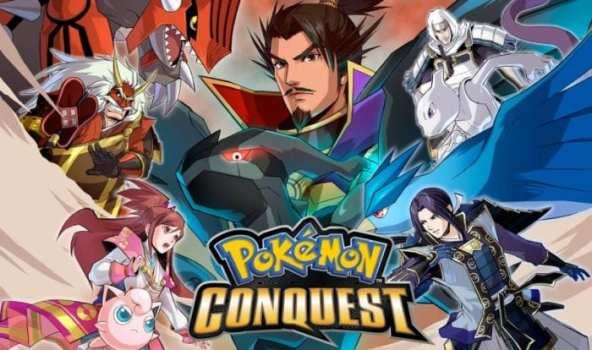 12. Pokemon Conquest (2012) - DS