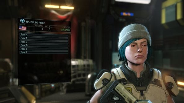 XCOM 2, character creation, Chloe, Life is Strange