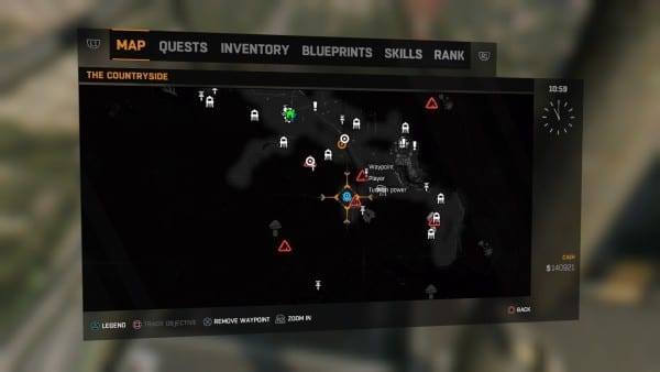 how to get the freezeing grenade blueprint in dying light