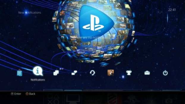 PlayStation Now Dynamic Theme