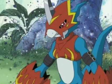 Digimon, Adventure, Flamedramon