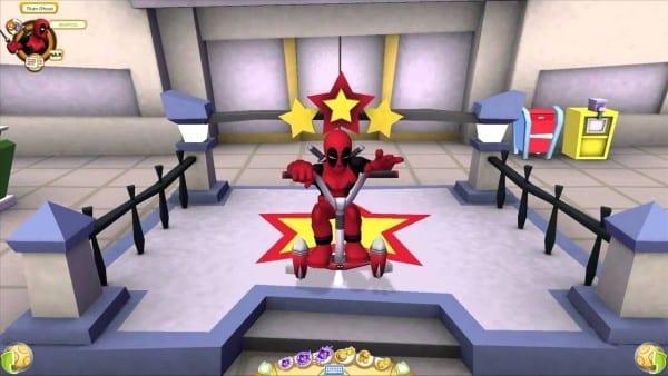 Deadpool, Marvel, Super hero squad, online, games