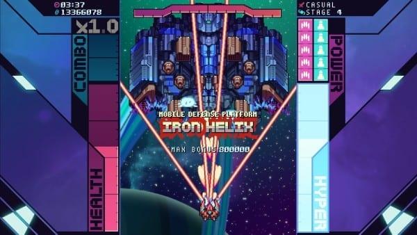 Super Galaxy Squadron EX Iron Helix