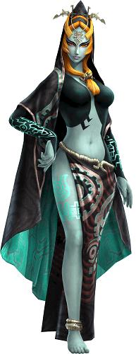 Hyrule Warriors Legends, Twili Midna