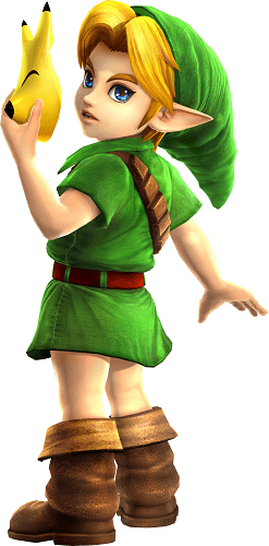 Hyrule Warriors Legends, Young Link
