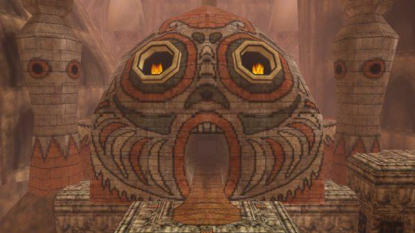 Zelda, Dungeon, Majora's Mask, Stone Tower Temple