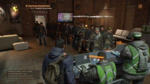 The Division, line, line simulator, PC players, issues, server