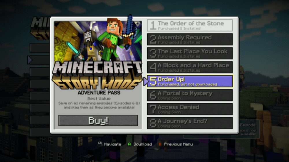 Minecraft Story Mode S Last Three Episode Names Revealed