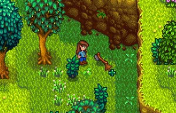 stardew valley, how, where, robin, lost axe, where is the lost axe, how to get robin's lost axe