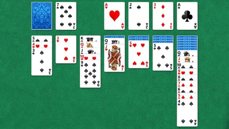 solitaire games at work