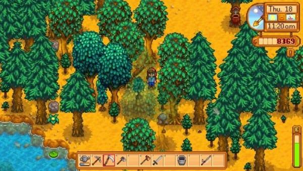 stardew valley foraging