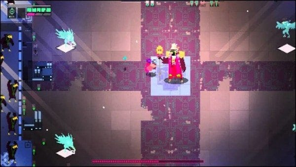 Hyper Light Drifter, guide, how to, get, walkthrough, money, quick, fast, gear bits, gear packs, Hyper Light Drifter, boss, north, bird