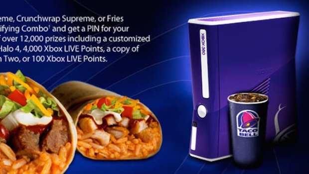 Taco Bell Xbox 360 Slim