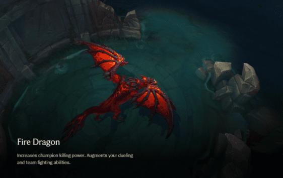 league of legends new dragon changes update mid season fire