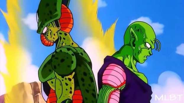 Piccolo vs Imperfect Cell
